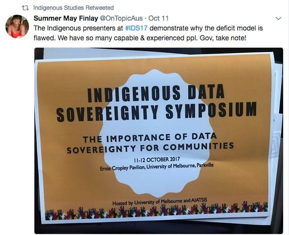 Indigenous Data Sovereignty More Than Scholarship Its A Movement