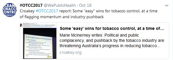 WPH Croakey story