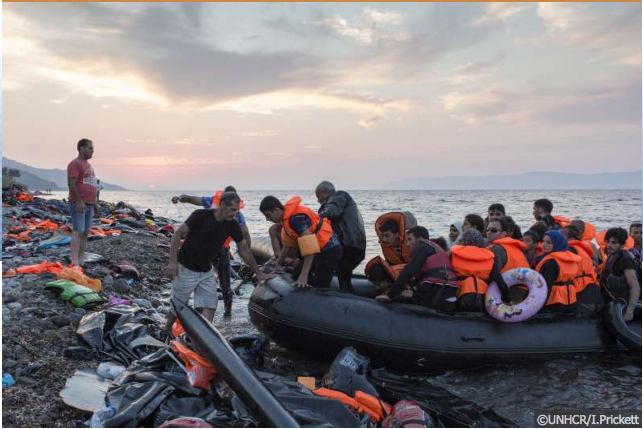 Remote health workers and the refugee crisis