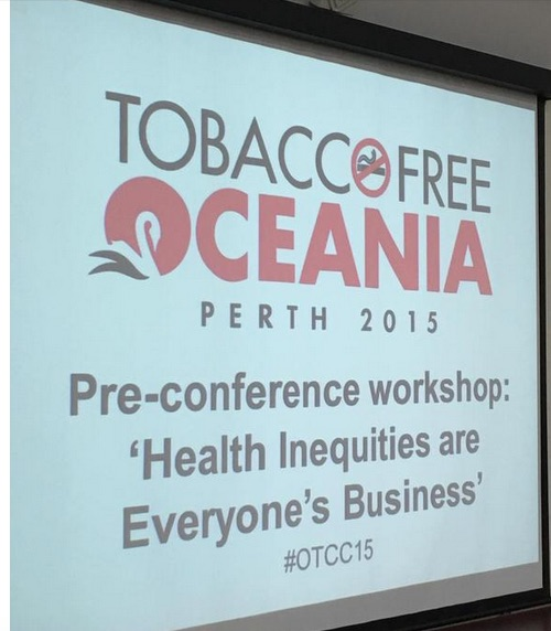 Tackling tobacco as a social justice issue: stories of success from the community