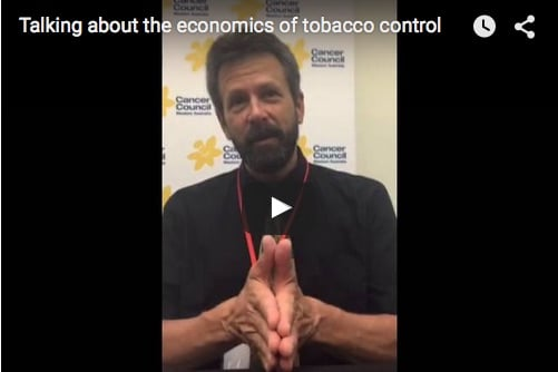 Tobacco control is smart economics (amongst other things)