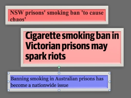 Behind the headlines: a progress report on smoke-free prisons and prisoners