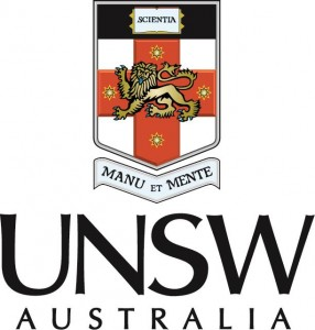 UNSW logo - colour portrait positive
