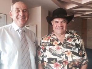 Mayor Bill West & Professor Mick Dodson