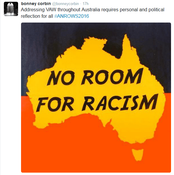 Indig no room for racism