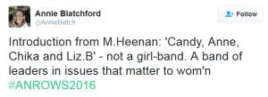 not girl band