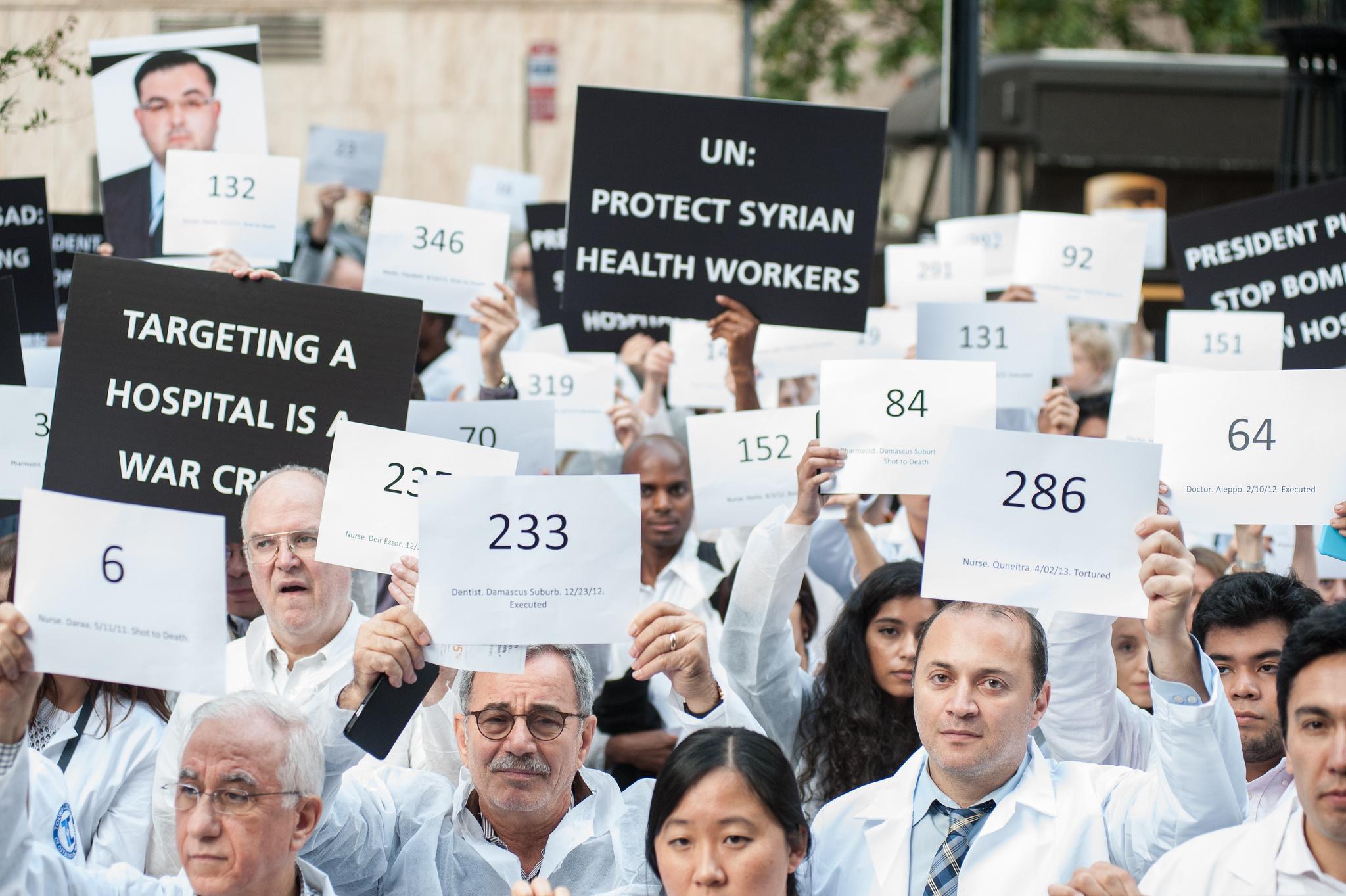 Grim plight of health care in Syria