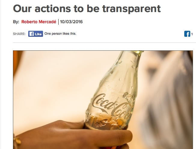 Coca-Cola releases details of who it funds in Australia