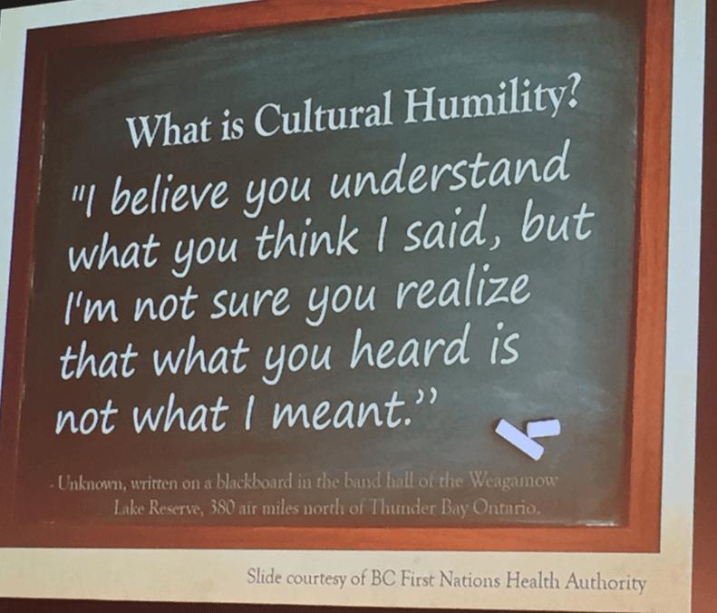 Wrap cultural humility