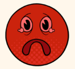 cancer frowny