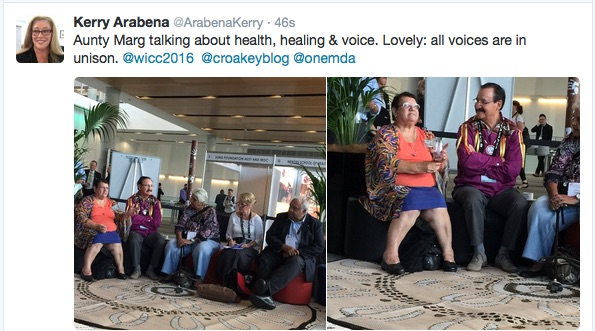 Sharing some powerful stories from a Yarning Circle -