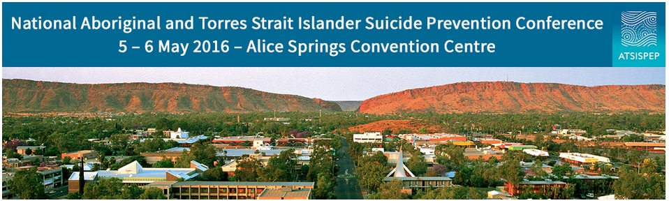 Previewing the inaugural Aboriginal and Torres Strait Islander Suicide Prevention Conference in Alice Springs this week