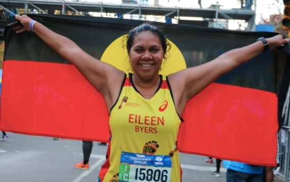 Running with heart and health: Eileen's story of a life-changing marathon