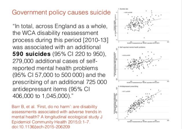 govt policy caused mental illness
