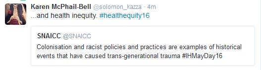 SNAICC trauma inequity