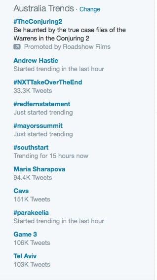 TrendingRedFernStatement