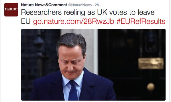 brexit nature reeling