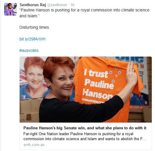 election hanson