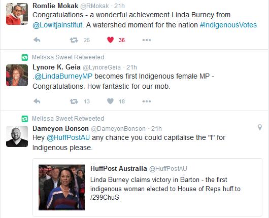 linda congrats