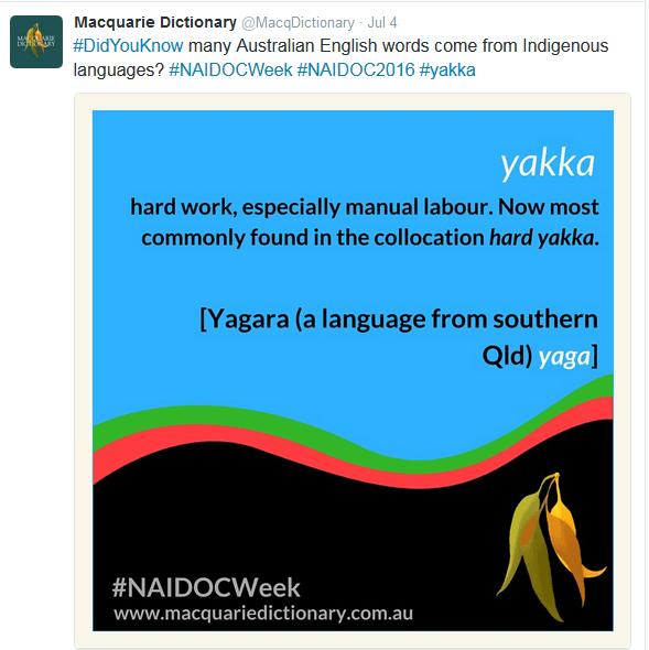 naidoc language
