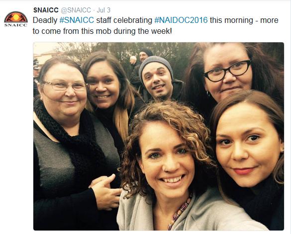 naidoc people snaicc