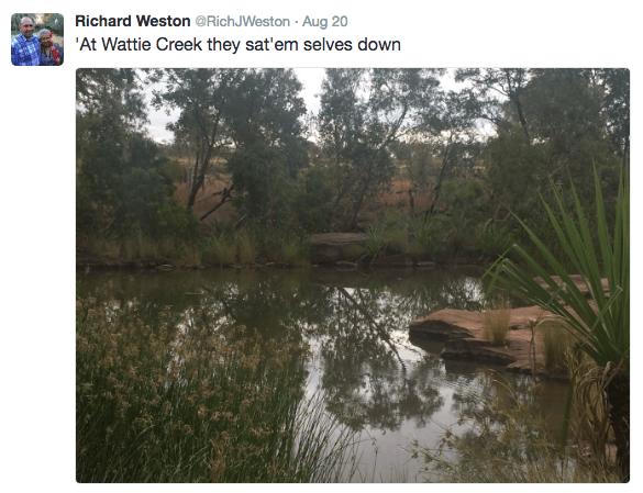 WH Richard Wattie Creek
