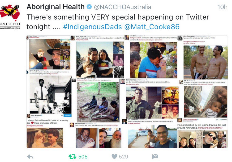 IndigenousDads: countering racist stereotypes with love & pride