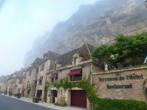 Morning mist La Roque Gagneac