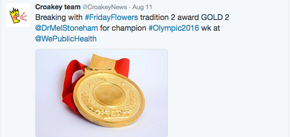 olympics gold for WPH