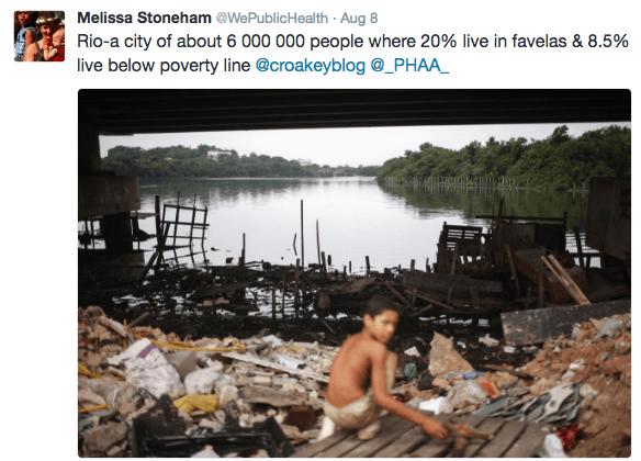 olympics poverty