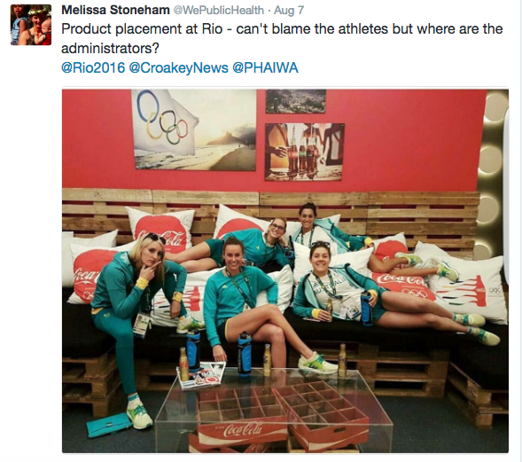 olympics product placement