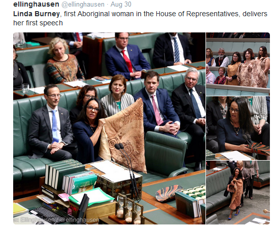 History made with 45th Parliament as Linda Burney & Patrick Dodson share language, stories, trauma and hope