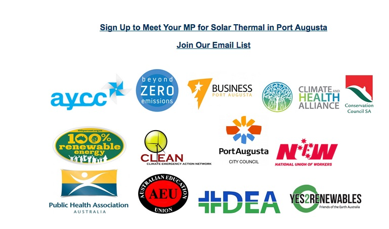 Sponsors of Repower Port Augusta