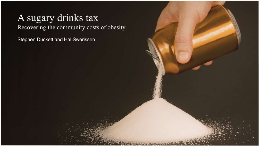 Is a tax on sugary drinks