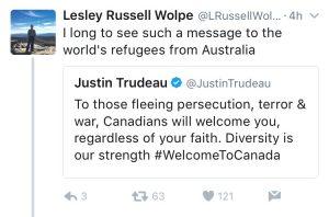 Trudeau:Les