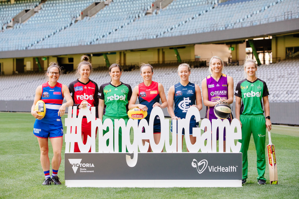 New Women's AFL comp kicks a historic goal for health and gender equality