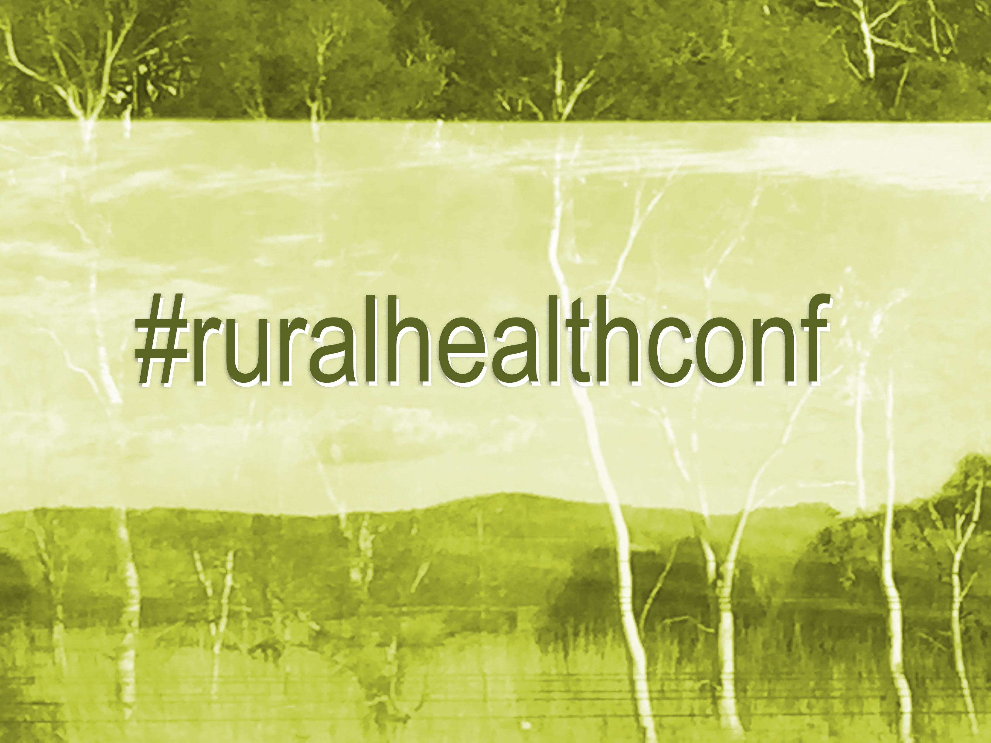 What's coming up at the National Rural Health Conference in Cairns this week?