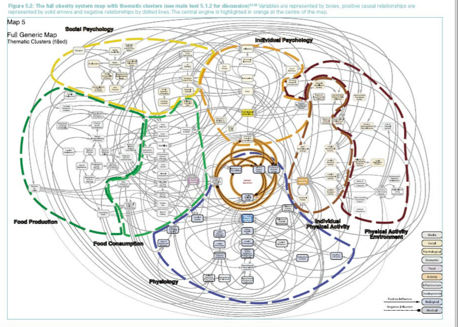 Foresight: Obesity System Map