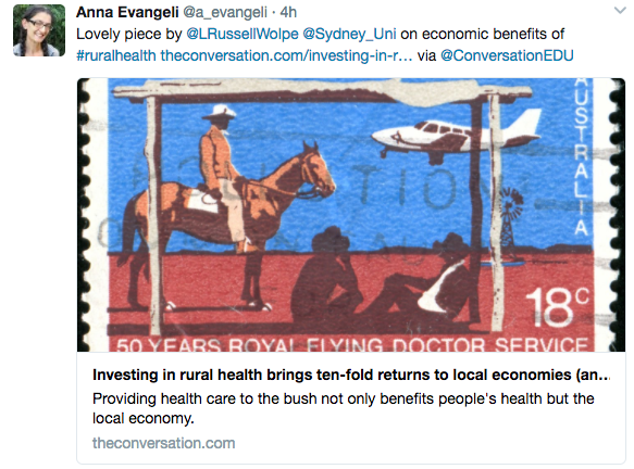 Investing in rural health brings dollar returns to local economies (and improves health)