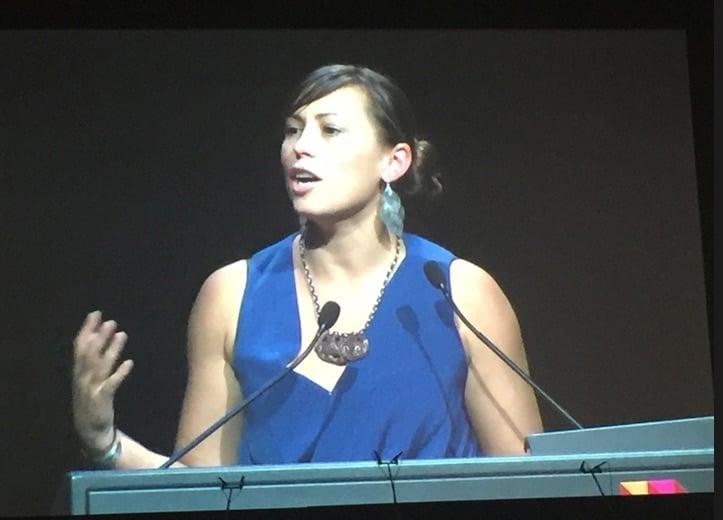 Summer May Finlay addresses World Congress on Public Health
