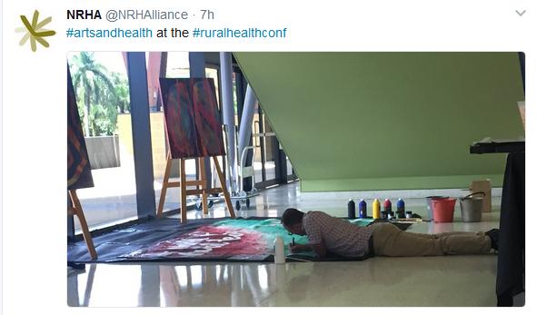 art lying
