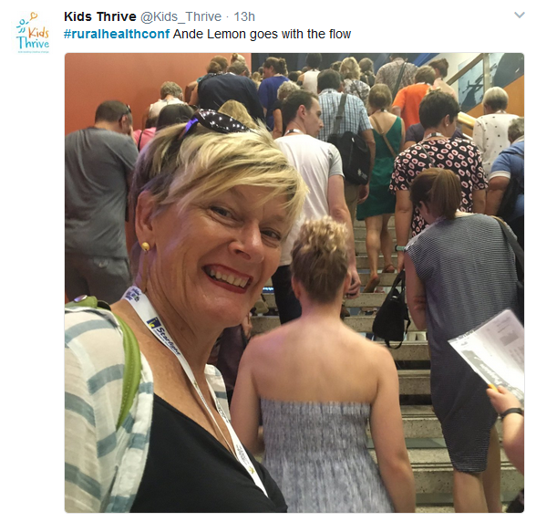 A World of Rural Health in Australia: Snaps and selfies from the National Rural Health Conference