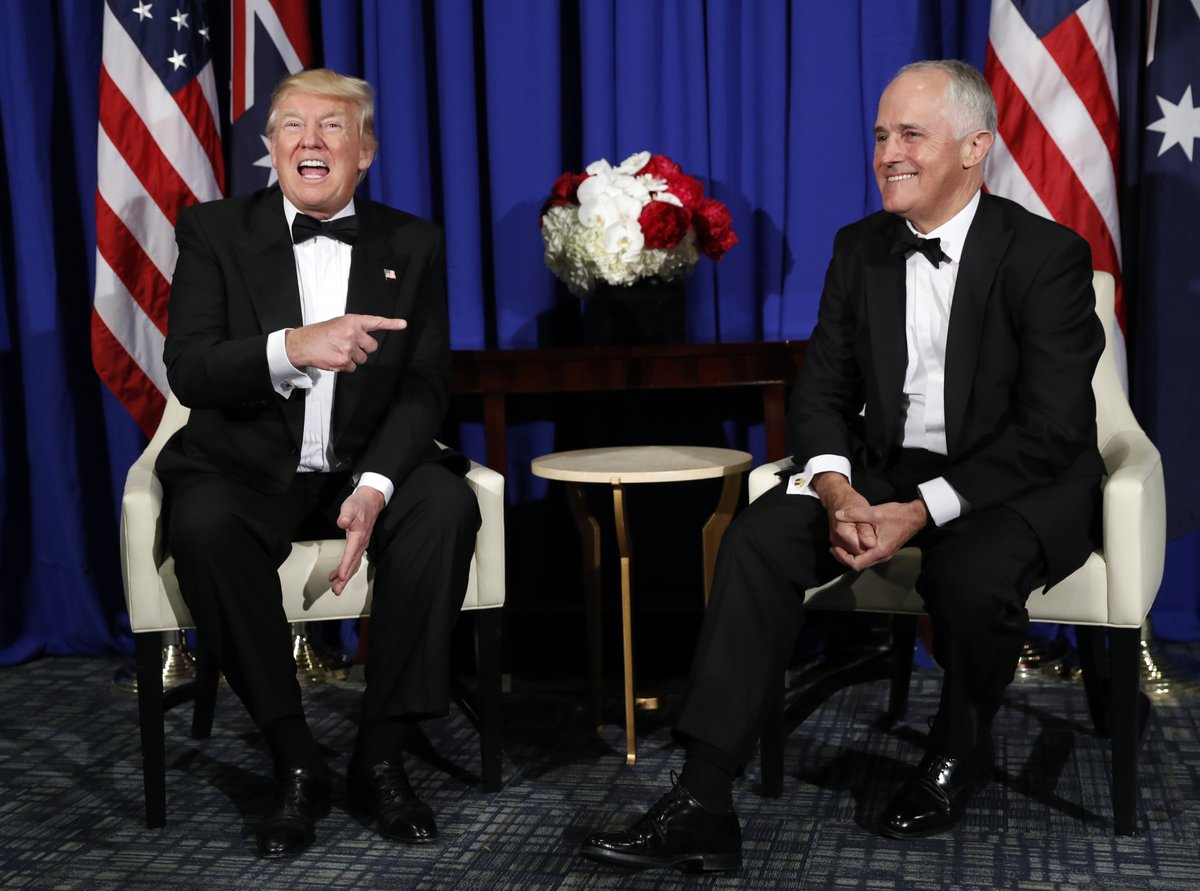 'Keep at it' - Turnbull praise for Obamacare repeal gives Australians pause on Budget eve