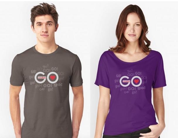 CroakeyGoTshirts