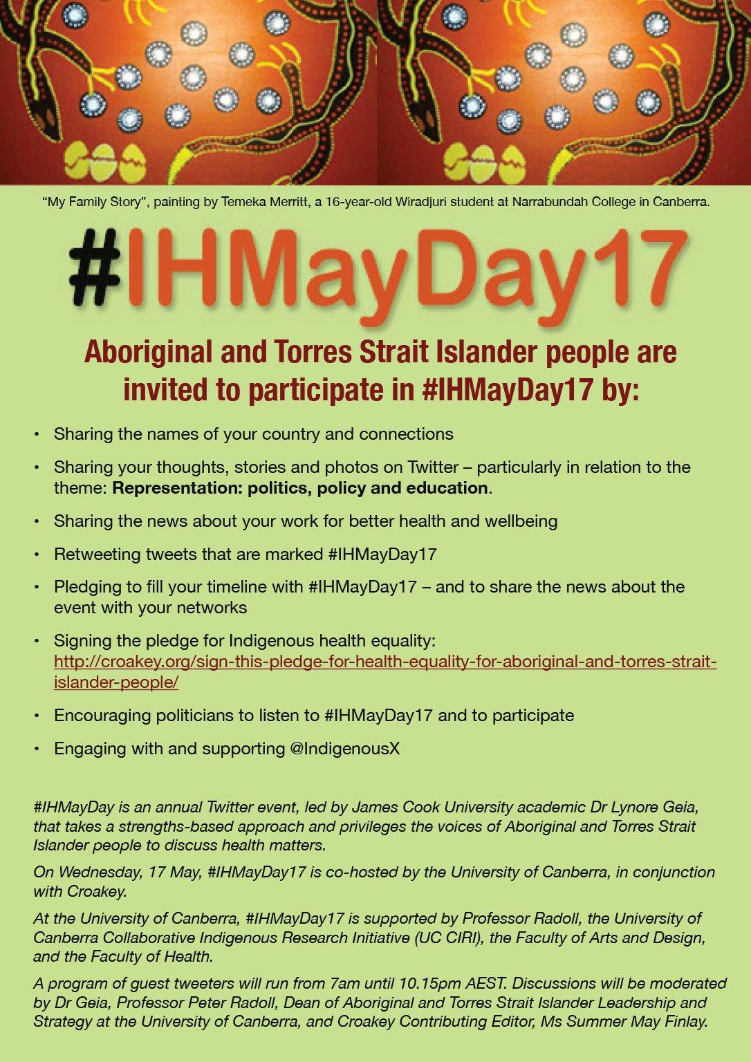 IHMayDay17_Tweeps