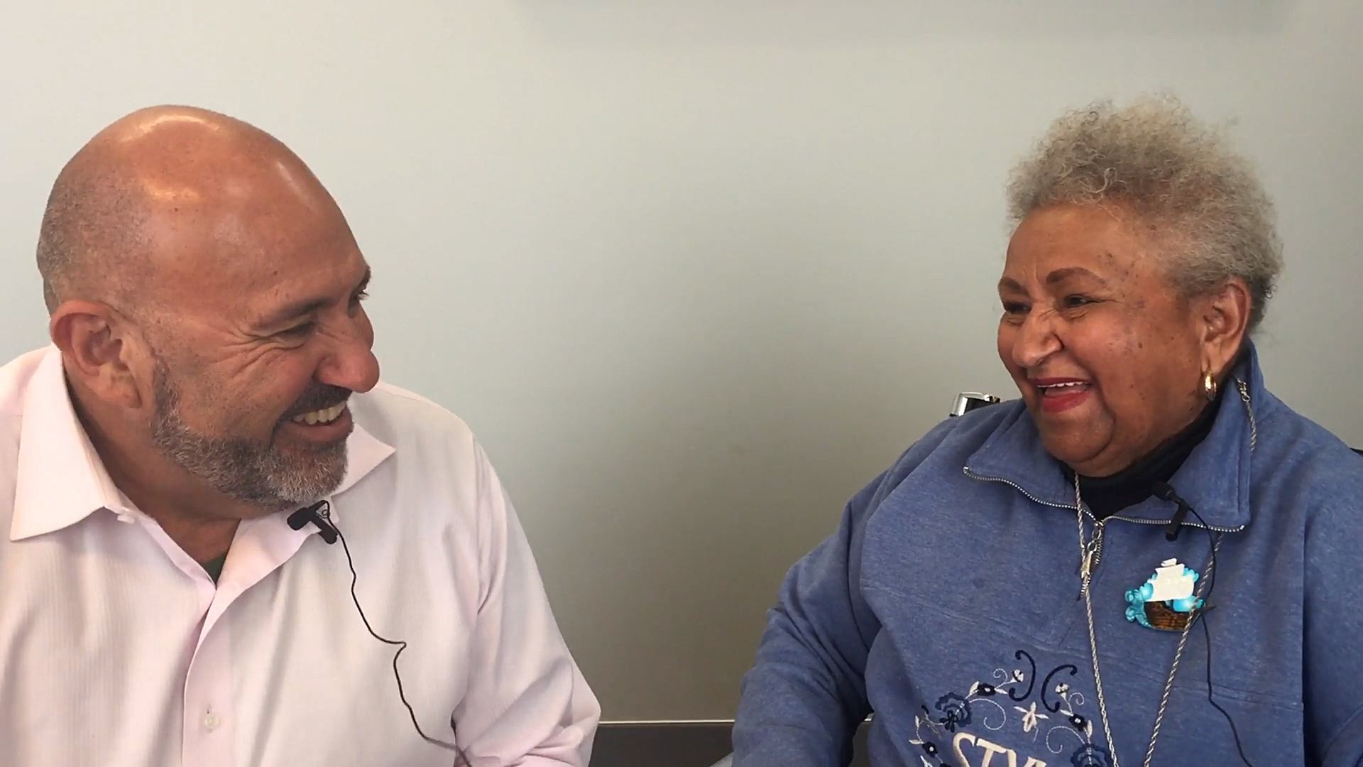 Thelma Weston, 81, is still hard at work. Watch this interview by her son, Richard