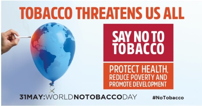 Marking World No Tobacco Day with a call for global action