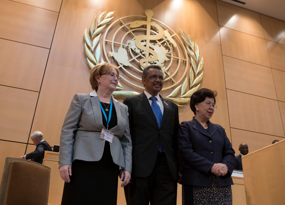 A new Director-General for the World Health Organisation
