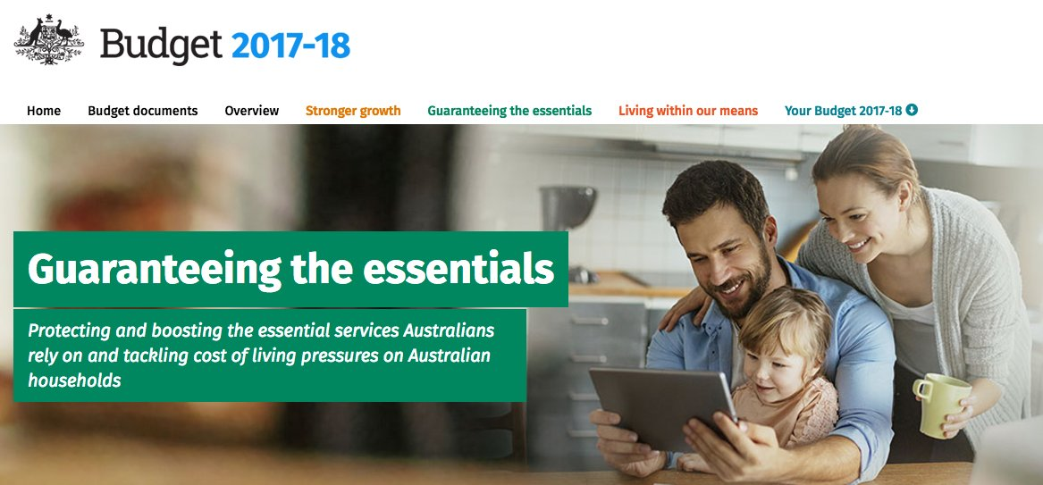 'Rock solid' commitment to Medicare as #healthbudget17 rolls out
