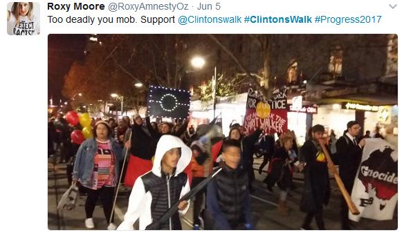 Clinton CBD walk